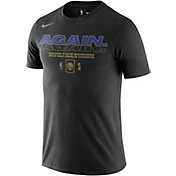 "Nike Men's 2018 NBA Champions Golden State Warriors Dri-FIT ""AGAIN"" T-Shirt"