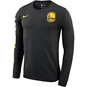 Nike Men's 2018 NBA Champions Golden State Warriors Dri-FIT Long Sleeve Shirt