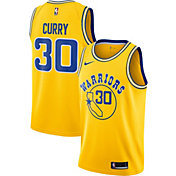 Nike Men's Golden State Warriors Stephen Curry Dri-FIT Hardwood Classic Swingman Jersey