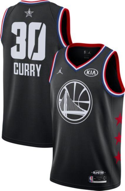 2a0fa6c837f Jordan Men s 2019 NBA All-Star Game Steph Curry Black Dri-FIT Swingman  Jersey. star borderstar borderstar borderstar borderstar border