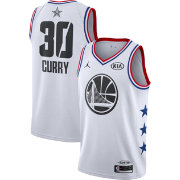 cc549637c36 Jordan Men s 2019 NBA All-Star Game Steph Curry White Dri-FIT Swingman  Jersey