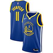 Nike Men's Golden State Warriors Klay Thompson #11 Royal Dri-FIT Swingman Jersey