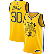 Nike Men's Golden State Warriors Stephen Curry Dri-FIT Earned Edition Swingman Jersey