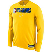 Nike Men's Golden State Warriors Dri-FIT Practice Long Sleeve Shirt