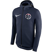 Nike Men's Washington Wizards On-Court Therma Flex Showtime Full-Zip Hoodie