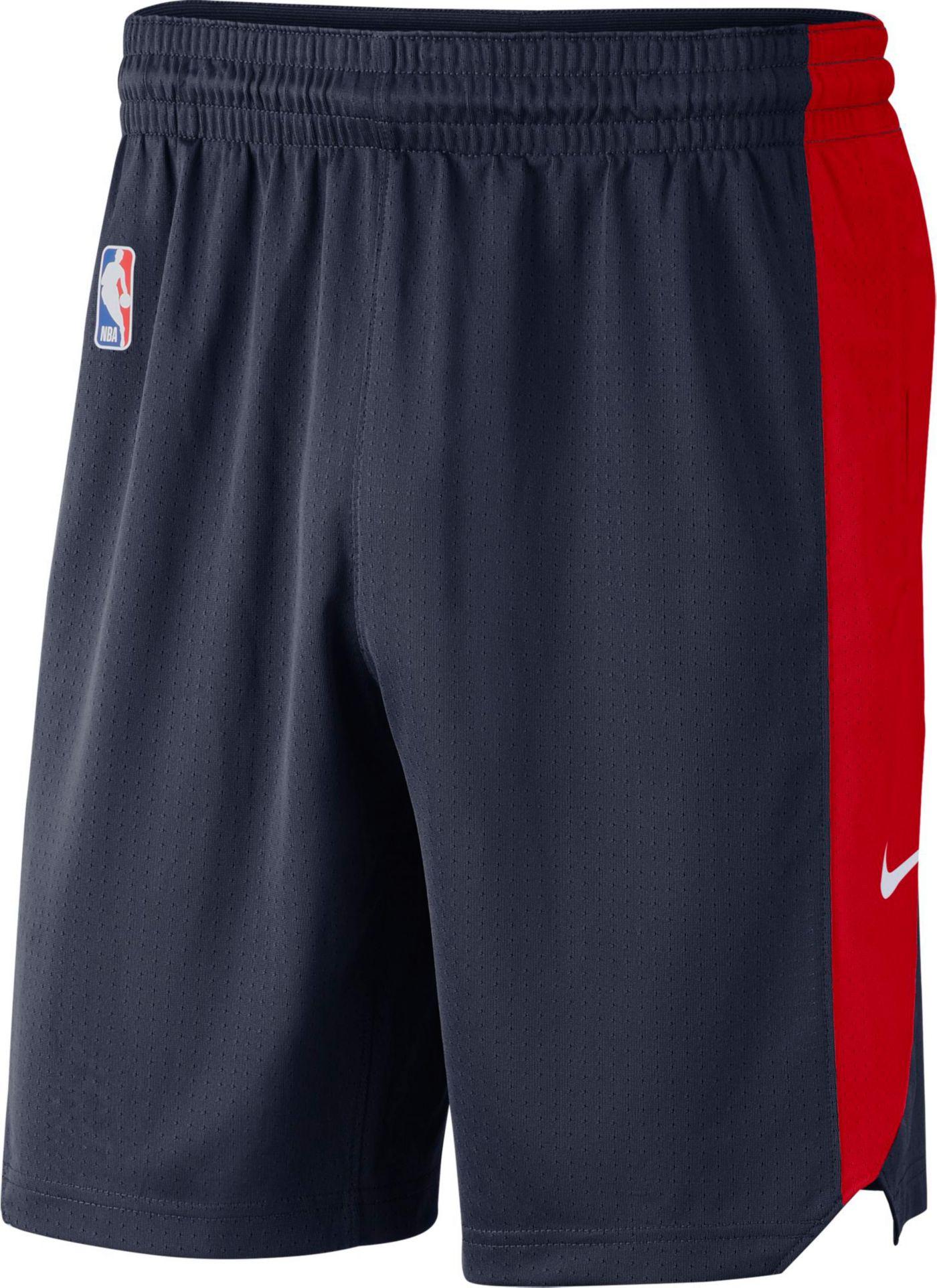 Nike Men's Washington Wizards Dri-FIT Practice Shorts