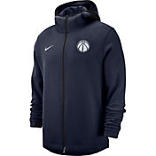 Nike Men's Washington Wizards On-Court Dri-FIT Showtime Full-Zip Hoodie