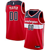 Nike Men's Full Roster Washington Wizards Red Dri-FIT Swingman Jersey