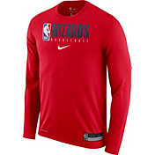 Nike Men's Washington Wizards Dri-FIT Practice Long Sleeve Shirt
