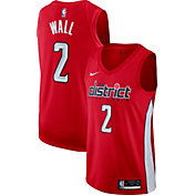 Nike Men's Washington Wizards John Wall Dri-FIT Earned Edition Swingman Jersey