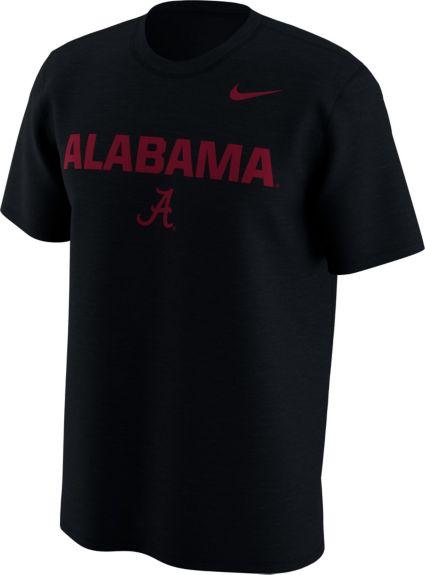 Nike Men s Alabama Crimson Tide Lockup Black T-Shirt. noImageFound 7fa103192