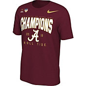 Nike Men's 2018 Capital One Orange Bowl Champions Locker Room Alabama Crimson Tide T-Shirt
