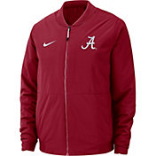 Nike Men's Alabama Crimson Tide Crimson Bomber Full-Zip Jacket
