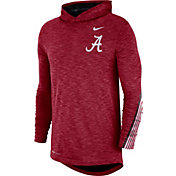 Nike Men's Alabama Crimson Tide Crimson Cotton Long Sleeve Hoodie T-Shirt