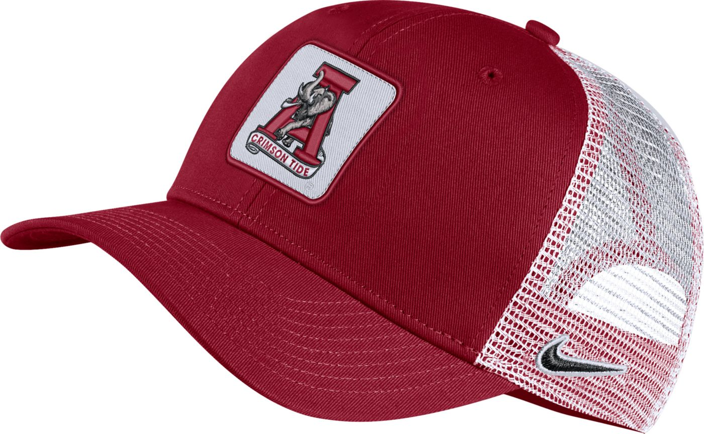 Nike Men's Alabama Crimson Tide Crimson Retro Classic99 Trucker Hat
