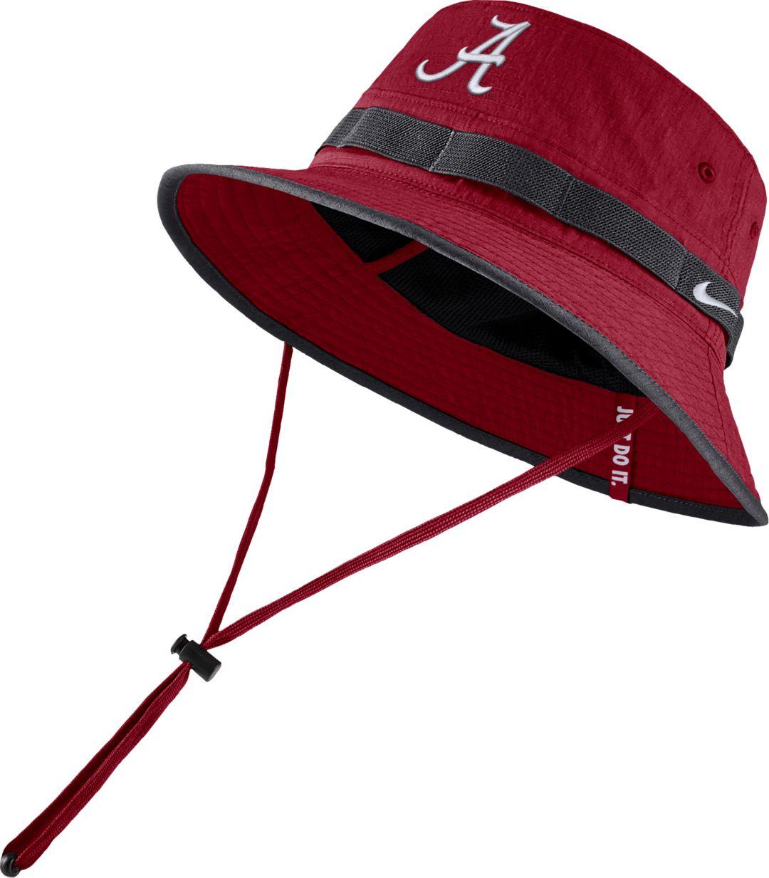 5f7d769c Nike Men's Alabama Crimson Tide Crimson Dri-FIT Sideline Bucket Hat ...