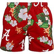 FOCO Men's Alabama Crimson Tide Crimson Floral Shorts