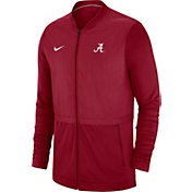 Nike Men's Alabama Crimson Tide Crimson Elite Hybrid Football Full-Zip Jacket
