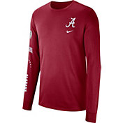 Nike Men's Alabama Crimson Tide Crimson Dri-FIT Elevated Basketball Long Sleeve Shirt