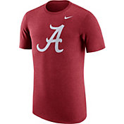 Nike Men's Alabama Crimson Tide Heathered Crimson Vault Tri-Blend T-Shirt