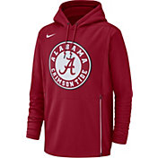 Nike Men's Alabama Crimson Tide Crimson Therma-FIT Pullover Hoodie