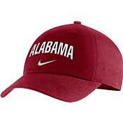 Nike Men's Alabama Crimson Tide Crimson Heritage86 Arch Wordmark Hat