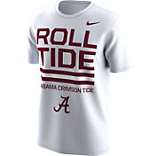 Nike Men's Alabama Crimson Tide Local White T-Shirt
