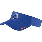Nike Men's Boise State Broncos Blue Aerobill Football Sideline Visor
