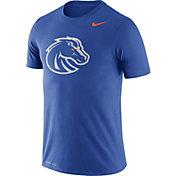 Nike Men's Boise State Broncos Blue Logo Dry Legend T-Shirt