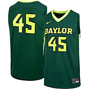 Nike Men's Baylor Bears Green #45 Replica Basketball Jersey