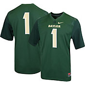 Nike Men's Baylor Bears #1 Green Game Football Jersey