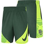 Nike Men's Baylor Bears Green Basketball HBR Shorts
