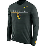 Nike Men's Baylor Bears Green Velocity Legend Graphic Long Sleeve T-Shirt