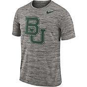 Nike Men's Baylor Bears Charcoal Football Dri-FIT Travel T-Shirt