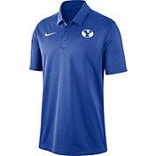 Nike Men's BYU Cougars Blue Dri-FIT Franchise Polo