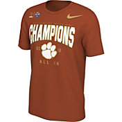 Nike Men's 2018 Goodyear Cotton Bowl Champions Locker Room Clemson Tigers T-Shirt