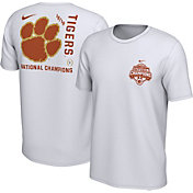 Nike Men's 2018 National Champions Clemson Tigers Back Hit Celebration T-Shirt