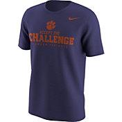 Nike Men's Clemson Tigers Regalia 'Accept the Challenge' Mantra T-Shirt