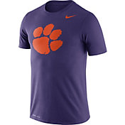 Nike Men's Clemson Tigers Regalia Logo Dry Legend T-Shirt