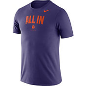 Nike Men's Clemson Tigers Purple Dri-FIT Phrase T-Shirt