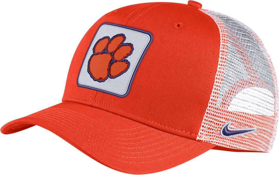 97f1cb23 Nike Men's Clemson Tigers Orange Classic99 Trucker Hat