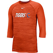 Nike Men's Clemson Tigers Orange Dry Legend 3/4 Sleeve T-Shirt