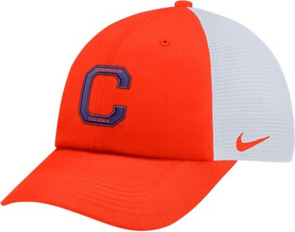 4fd311017f8 ... sale nike mens clemson tigers orange heritage86 adjustable trucker hat  d7741 06015