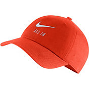Nike Men's Clemson Tigers Orange Heritage86 Adjustable Hat