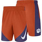 Nike Men's Clemson Tigers Orange Basketball HBR Shorts