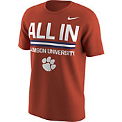 Nike Men's Clemson Tigers Orange Local T-Shirt