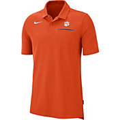 Nike Men's Clemson Tigers Orange Dri-FIT Elite Football Sideline Polo