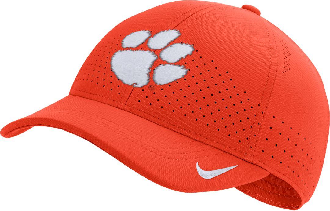 065b93ea Nike Men's Clemson Tigers Orange Aerobill Classic99 Football Sideline Hat