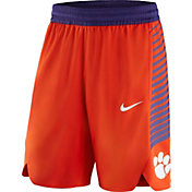 Nike Men's Clemson Tigers Orange Replica Basketball Shorts