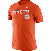 Nike Men's Clemson Tigers Orange Legend Football Sideline T-Shirt
